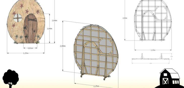 Casa di Paglia - Progetto