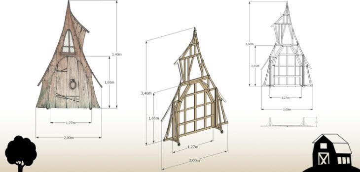 Casa di Legno - Progetto