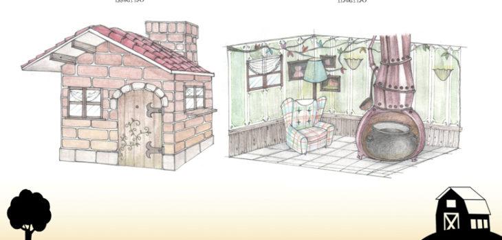 Interno Casa di Mattoni